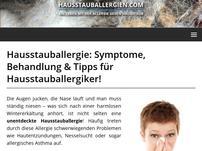 Hausstauballergien.com