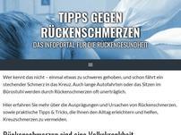 tipps-gegen-rückenschmerzen.de