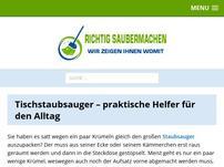 tischstaubsauger.com