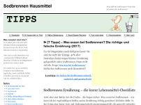 SodbrennenHausmittel-Tipps.de