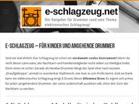 E-Schlagzeug.net