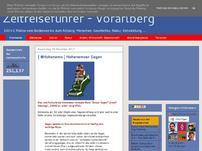 Zeitreiseführer Vorarlberg Blog