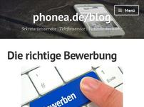 phonea.de Sekretariatsservice Blog