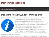 Dein-Minibackofen.de