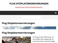 Flug-Sitzplatzreservierungen.de