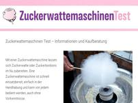 Zuckerwattemaschinetest.com