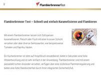 Flambierbrennertest.com