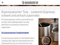 Espressokochertest.com