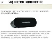 Bluetoothlautsprechertest.com