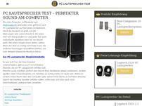 Pclautsprecher-test.net