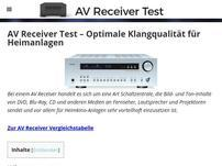 Avreceiver-test.com