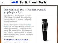Barttrimmertests.com