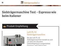 Siebtraegermaschinetest.com