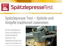 Spaetzlepressetest.com