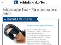 Schlafmasketest.com