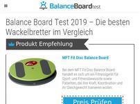 Balanceboardtest.com