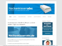 Nackenkissen-abc.de