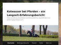 Kotwasser-bei-Pferden.de