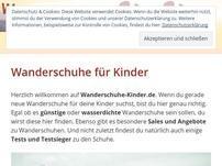 Wanderschuhe-Kinder.de