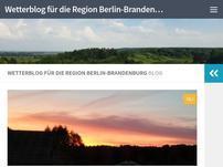 Ihr Wetterblog für Berlin und Brandenburg