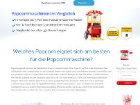 Popcornmaschinen Blog
