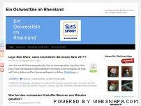 Ein Ostwestfale im Rheinland