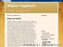 50plus Tagebuch