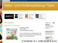 Baby- und Kinderspielzeug-Tipps