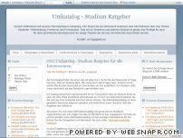 Unikatalog - Studium Ratgeber