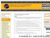 Regelsatz Info. News- und Informationsportal