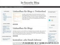 In-Security Blog