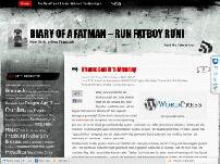 Diary of a fatman – run fatboy run!