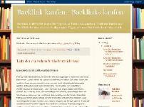 Backlink kaufen - Backlinks kaufen