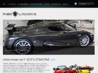 FINESTAUTOMOTIVE.com - Exklusiver Fahrzeugmarkt und Fahrzeugvermittlung