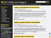 SEO, Webentwicklung und Monetarisierung