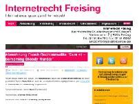 Internetrecht Freising