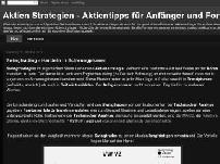 Aktien Strategien - Aktientipps für Anfänger und Fortgeschrittene