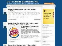 Gutschein Burgerking