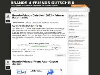 Brands 4 Friends Gutschein