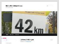 Mein Marathon Blog