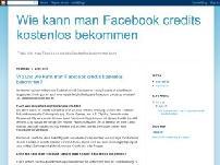 Wie kann man Facebook credits kostenlos bekommen