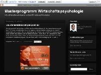 Masterprogramm Wirtschaftspsychologie
