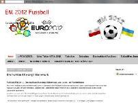 Europameisterschaft 2012 Fussball