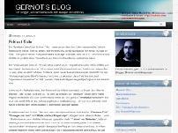 Gernot's Blog