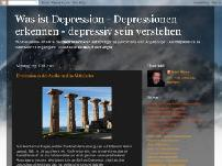 Was ist Depression - Depressionen erkennen - depressiv sein verstehen