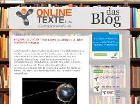 ONLINETEXTE.com - das Blog
