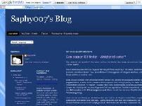 Saphy007's Blog