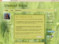 Stempel-Biene