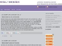 Design Anmerkungen