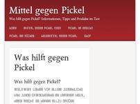mittelgegenpickeltipps.de